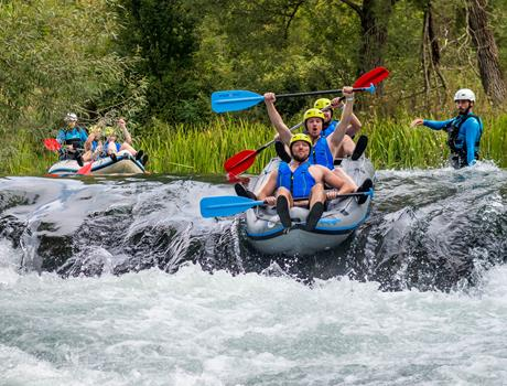 Half Day Rafting on the River Cetina from Split