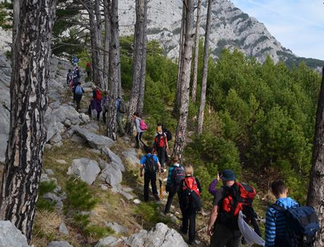 Hiking Tour on Mosor Mountain from Split