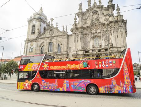24/48 Hours Hop-On Hop-Off in Porto