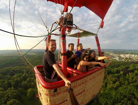 Hot Air Balloon Tour from Prague