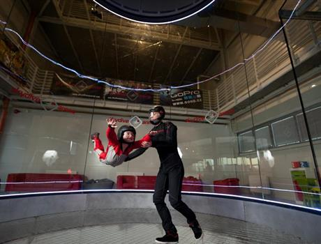 Indoor Skydiving in Prague