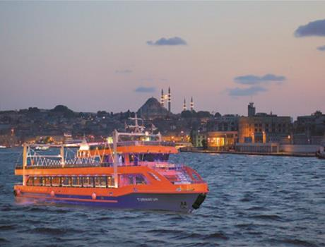 Romantic Bosphorus Cruise Evening Tour in Istanbul
