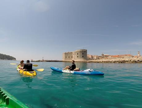 Kayaking Dubrovnik