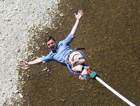 Bungee Jump in Killiecrankie