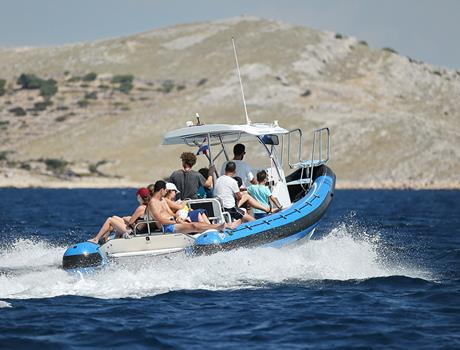 Full Day Speedboat Tour to National Park Kornati from Šibenik