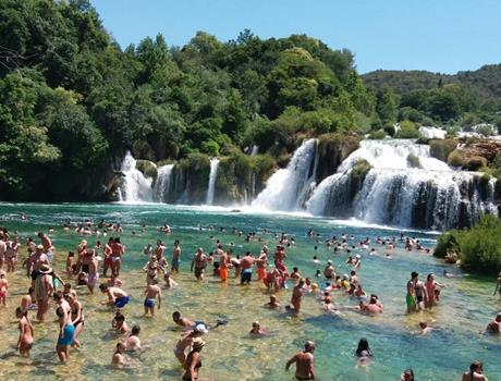 Full Day Tour in National Park Krka from Zadar