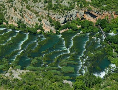 Krka Waterfalls, Skradinski Buk and Roski Slap from Zadar