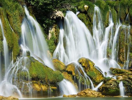 Krka Waterfalls and Trogir day trip from Makarska Riviera