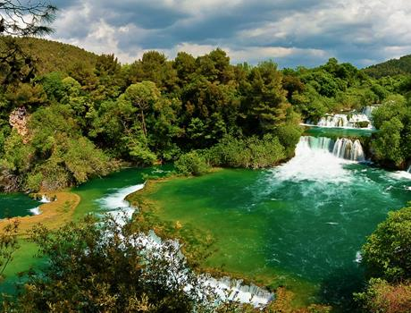 Šibenik and National park Krka: full day tour from Makarska