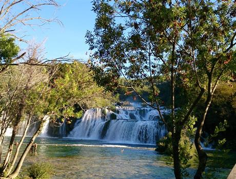 Full Day Tour from Split to Krka Waterfalls and Šibenik