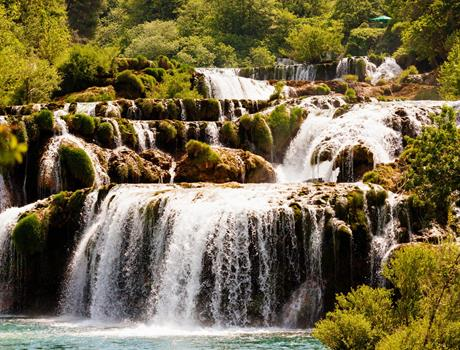 Experience Krka Waterfalls and Old town Šibenik