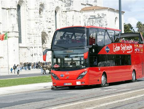 Lisbon: Belém + Oriente Hop-On Hop-Off Bus Tour (48h)