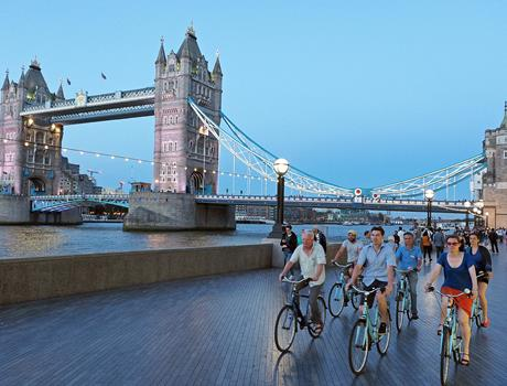 London 3-Hour Night Bike Tour