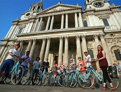 Top Sights of London Bike Tour