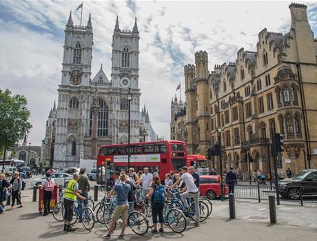Discover London's History on Unique Bike Tour
