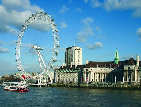 Experience London & Coca-Cola London Eye with Lunch