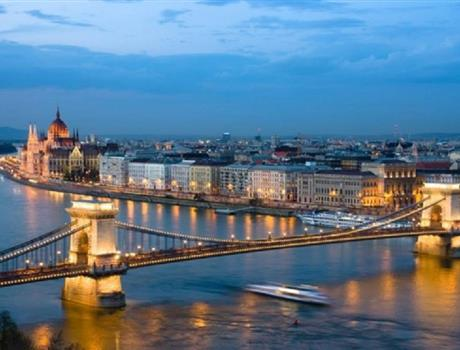 Budapest: Cruise Tour at Christmas with Dinner & Live Music