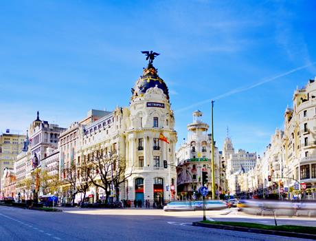 Half Day City Bus Tour and Royal Palace Visit in Madrid