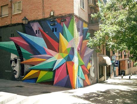 Street Art Tour in Madrid and the Underground Scene