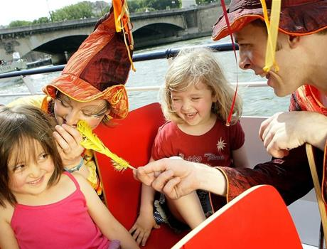 Magical Cruise on Seine River in Paris for Children & Adults in French language only