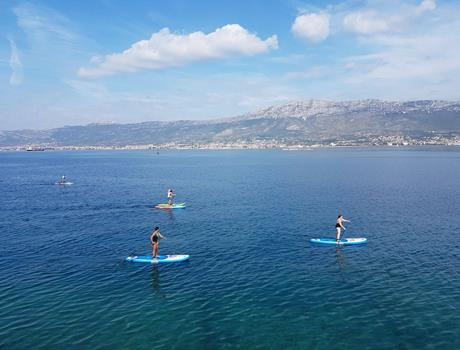 Stand Up Paddle Tour around Marjan Forest in Split