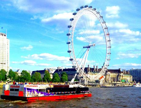 Morning London Tour with River Cruise