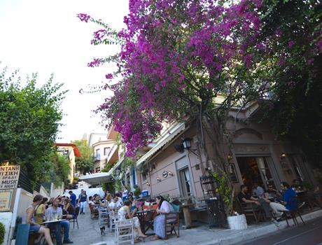 Athens morning highlights tour with coffee break