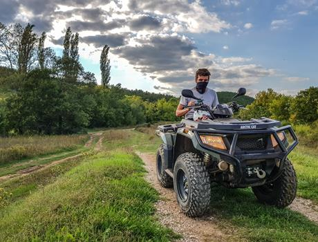 Mountain Safari Quad Tour from Split