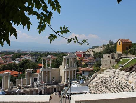 Old town Plovdiv and traditional Lunch Private Small Group Trip from Sofia