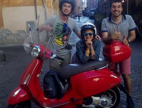 Panoramic Tour of Rome by Vespa