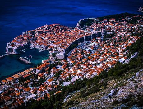 Panoramic tour of Dubrovnik
