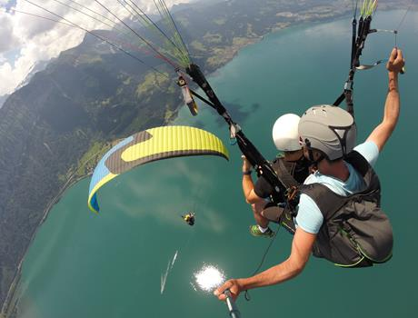 Paragliding Panorama Tour from Interlaken