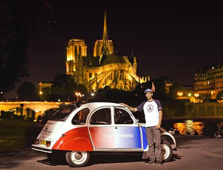 Night Tour: Montmartre from Paris by Citroen 2CV