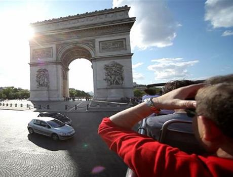 Day Trip to Paris from London with Open Top Bus Tour