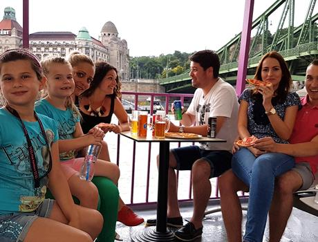 Pizza & Beer Cruise from Budapest