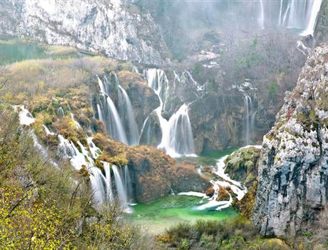National Park Plitvice Lakes: Guided Tour from Zagreb