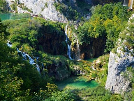 Plitvice Lakes from Split