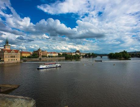 Pleasant Prague Lunch Cruise on the Vltava River