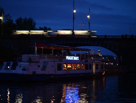 Prague 2-Hour Boat Cruise + Dinner Exclusive Tour