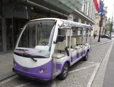 Private Eco Tour: Sightseeing in electric golf car from Krakow