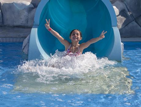 Private Iceland Water Park Tour to Ras Al Khaimah from Fujairah