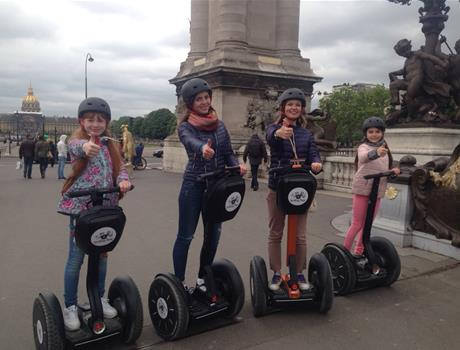 Private Segway Tour 45 min of Paris