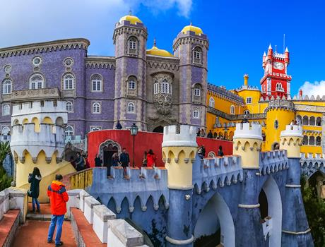 Private Sintra Cascais and Estoril Guided Tour from Lisbon