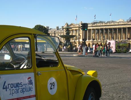 Private Tour Secret of Paris with 2CV