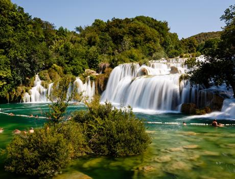 Private Tour from Dubrovnik to National Park Krka