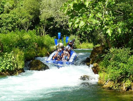 Rafting Tour on Cetina River from Split & Omiš