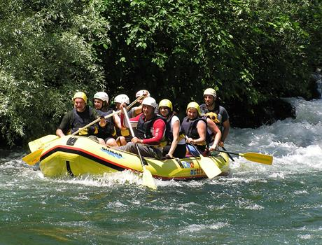 Cetina Rafting Tour from Makarska Riviera