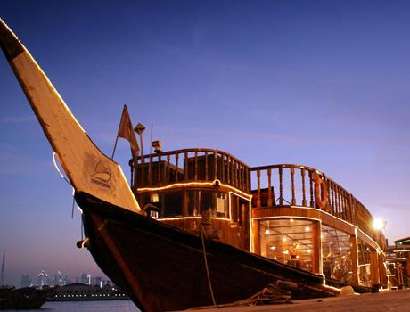 Dhow Cruise with Dinner in Dubai