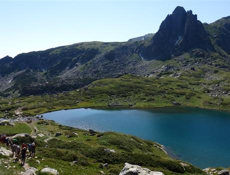 Rila Mountains and Seven Rila Lakes from Sofia