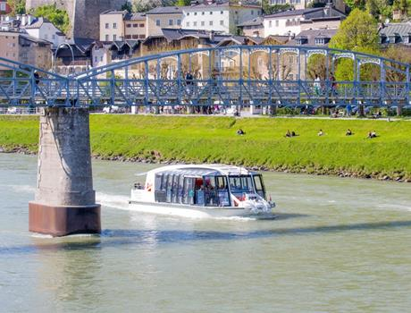Salzburg Boat Tour & Exclusive Visit to the Hellbrunn Palace (Tour 3)